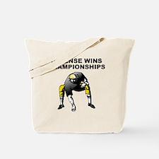 Defense Wins Championships Tote Bag