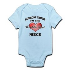 World's Best Niece (Heart) Body Suit