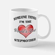 World's Best Step Mother (Heart) Mug