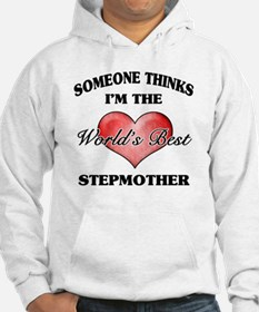 World's Best Step Mother (Heart) Hoodie