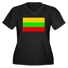Lithuania Flag Plus Size T-Shirt