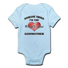 World's Best Godmother (Heart) Body Suit
