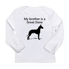 My Brother Is A Great Dane Long Sleeve T-Shirt