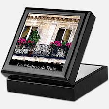 Windows Of Paris-Railing Keepsake Box