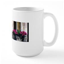 Windows Of Paris-Railing Mug