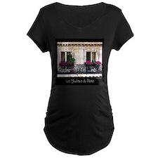 Windows Of Paris-Railing T-Shirt