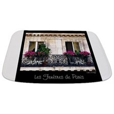 Windows Of Paris-Railing Bathmat
