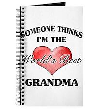 World's Best Grandma (Heart) Journal