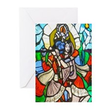 Radha and Krishna Greeting Cards
