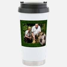 Your photo in a Soccer Travel Mug