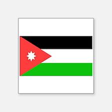 Jordan Flag Sticker