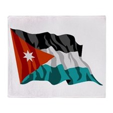 Jordan Flag Throw Blanket
