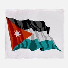 Jordan Flag Throw Blanket