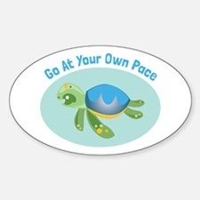 Go at Your Own Pace Decal