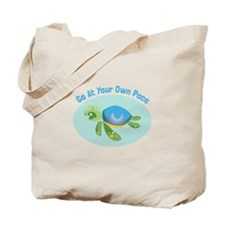 Go at Your Own Pace Tote Bag