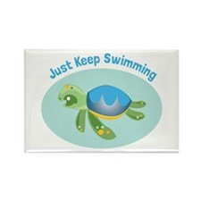 Just Keep Swimming Magnets