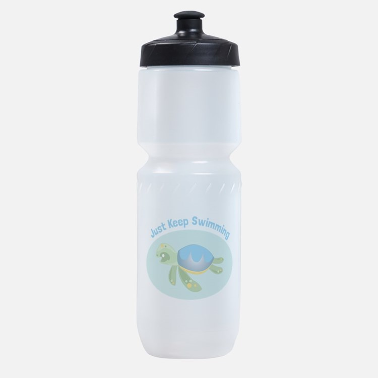 Just Keep Swimming Sports Bottle