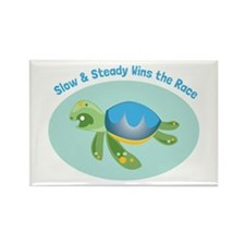 Slow & Steady wins the race Magnets