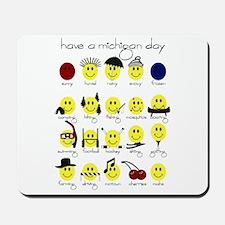 MAHS Smiley Designs Mousepad