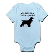 My Sister Is A Cocker Spaniel Body Suit