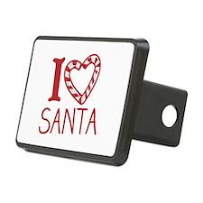 I Love Santa Hitch Cover