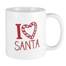 I Love Santa Mugs