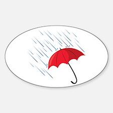 Rain Umbrella Decal
