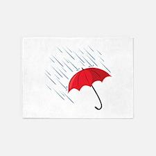 Rain Umbrella 5'x7'Area Rug