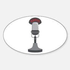 Radio Microphone Decal