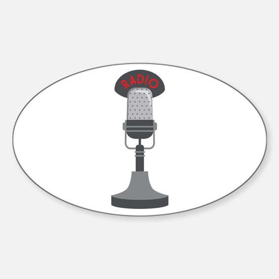 Radio Microphone Decal