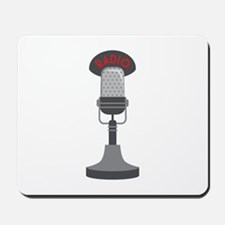 Radio Microphone Mousepad