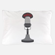 Radio Microphone Pillow Case