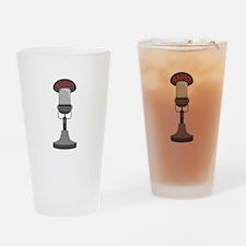Radio Microphone Drinking Glass