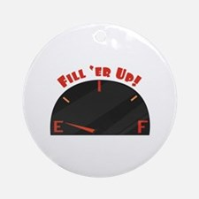 Fill Er Up Ornament (Round)