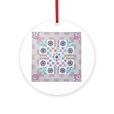 Millefiori Ornament (Round)