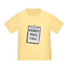 Robot Roll Call T