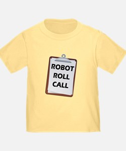 Robot Roll Call T