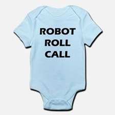 Robot Roll Call Infant Bodysuit