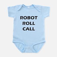 Robot Roll Call Onesie