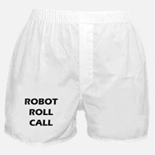 Robot Roll Call Boxer Shorts