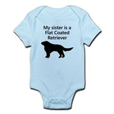 My Sister Is A Flat Coated Retriever Body Suit