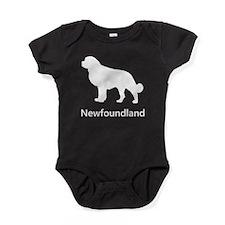 Newfoundland Silhouette Baby Bodysuit