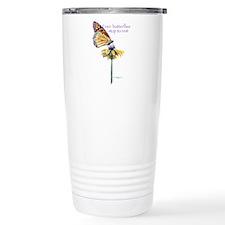 Cute Flower person Travel Mug