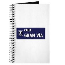 Calle Gran Vía, Madrid Journal