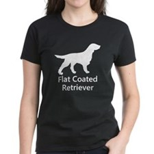 Flat Coated Retriever Silhouette T-Shirt