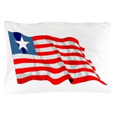 Liberia Flag Pillow Case