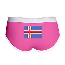 Iceland Flag Women's Boy Brief
