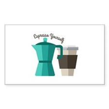 Expresso Yourself Decal