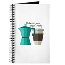 Coffees Ready Journal