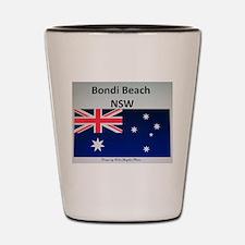 Bondi Beach Merchandise by ColinGwyther Shot Glass